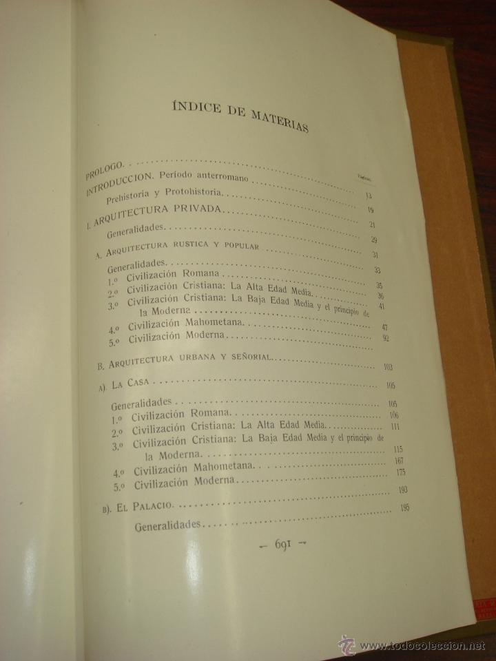 Libros antiguos: ARQUITECTURA CIVIL ESPAÑOLA DE LOS SIGLOS I AL XVIII. 1922. 2 TOMOS. VICENTE LAMPEREZ Y ROMEA - Foto 11 - 32169008