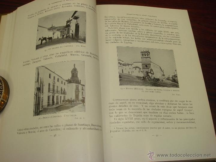 Libros antiguos: ARQUITECTURA CIVIL ESPAÑOLA DE LOS SIGLOS I AL XVIII. 1922. 2 TOMOS. VICENTE LAMPEREZ Y ROMEA - Foto 15 - 32169008