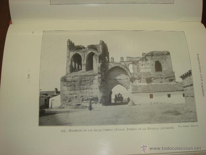 Libros antiguos: ARQUITECTURA CIVIL ESPAÑOLA DE LOS SIGLOS I AL XVIII. 1922. 2 TOMOS. VICENTE LAMPEREZ Y ROMEA - Foto 20 - 32169008