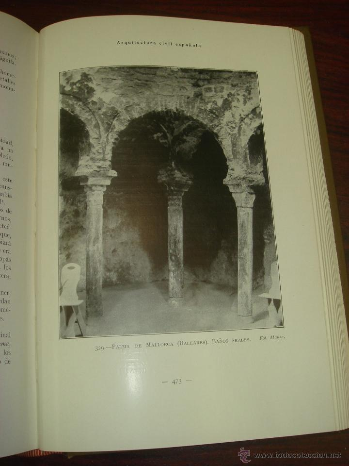 Libros antiguos: ARQUITECTURA CIVIL ESPAÑOLA DE LOS SIGLOS I AL XVIII. 1922. 2 TOMOS. VICENTE LAMPEREZ Y ROMEA - Foto 21 - 32169008
