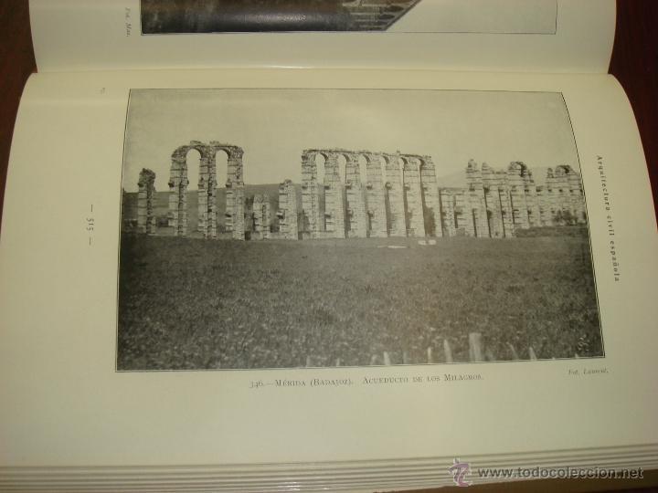 Libros antiguos: ARQUITECTURA CIVIL ESPAÑOLA DE LOS SIGLOS I AL XVIII. 1922. 2 TOMOS. VICENTE LAMPEREZ Y ROMEA - Foto 22 - 32169008