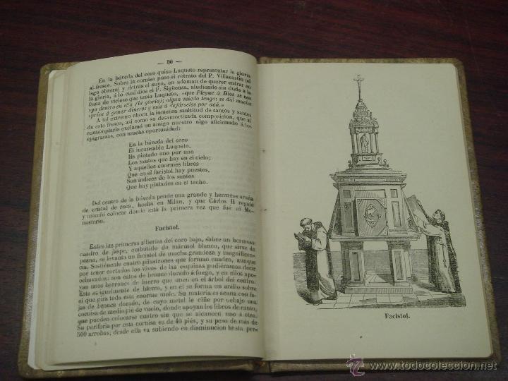 Libros antiguos: Descripción de la gran Basílica del Escorial 1868 Antonio Rotondo - Foto 6 - 32209056