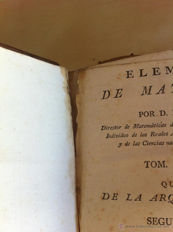 Libros antiguos: ARQUITECTURA CIVIL. ELEMENTOS DE MATEMÁTICA. D.BENITO BAILS. TOMO IX. PARTE I. AÑO 1796. ILUSTRADO. - Foto 17 - 49918044