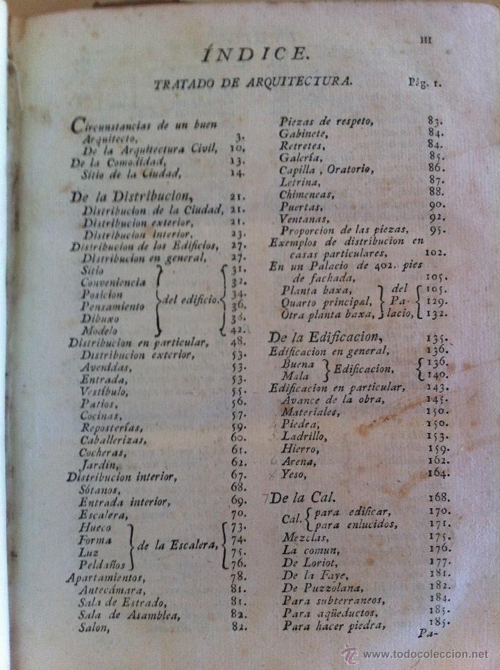 Libros antiguos: ARQUITECTURA CIVIL. ELEMENTOS DE MATEMÁTICA. D.BENITO BAILS. TOMO IX. PARTE I. AÑO 1796. ILUSTRADO. - Foto 20 - 49918044