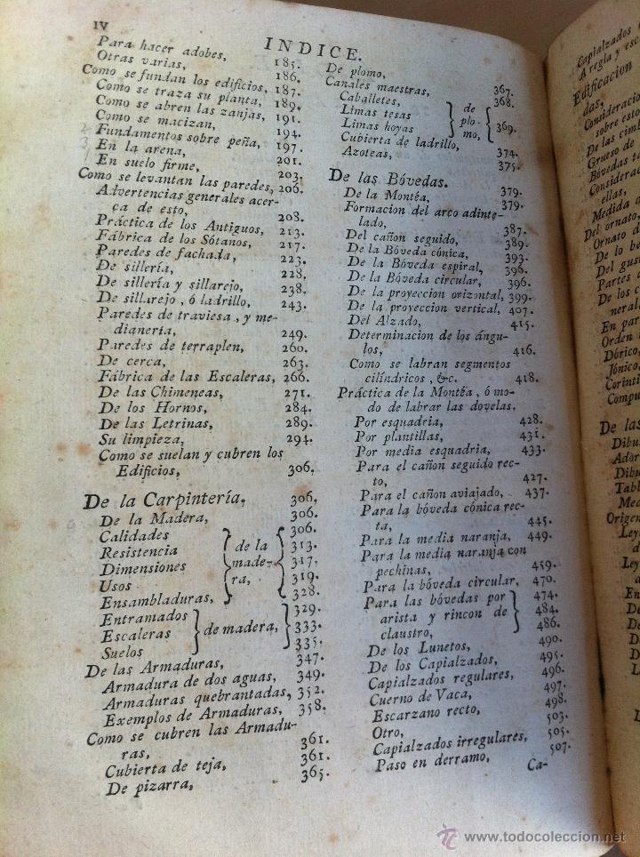 Libros antiguos: ARQUITECTURA CIVIL. ELEMENTOS DE MATEMÁTICA. D.BENITO BAILS. TOMO IX. PARTE I. AÑO 1796. ILUSTRADO. - Foto 21 - 49918044