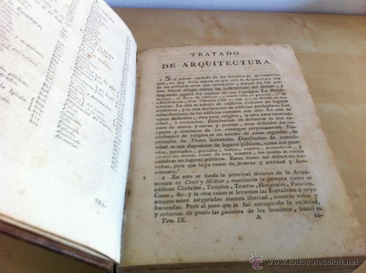 Libros antiguos: ARQUITECTURA CIVIL. ELEMENTOS DE MATEMÁTICA. D.BENITO BAILS. TOMO IX. PARTE I. AÑO 1796. ILUSTRADO. - Foto 24 - 49918044