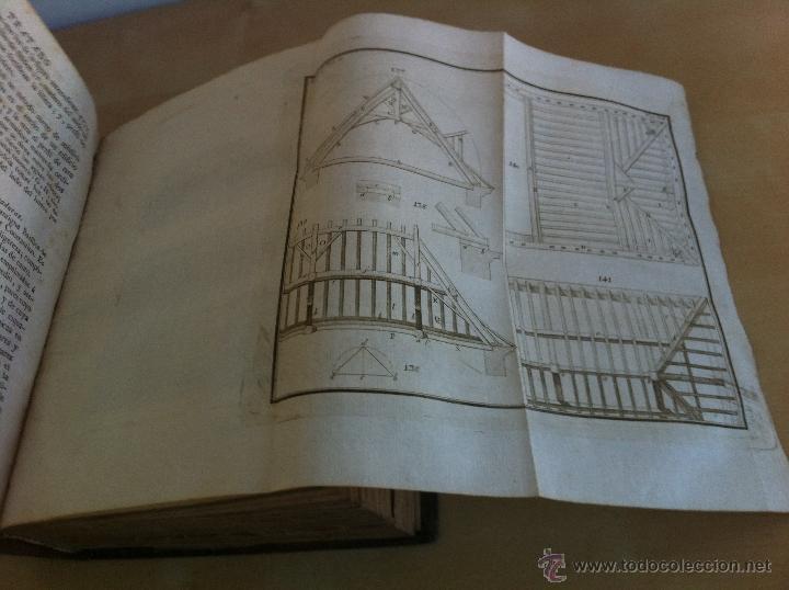 Libros antiguos: ARQUITECTURA CIVIL. ELEMENTOS DE MATEMÁTICA. D.BENITO BAILS. TOMO IX. PARTE I. AÑO 1796. ILUSTRADO. - Foto 30 - 49918044