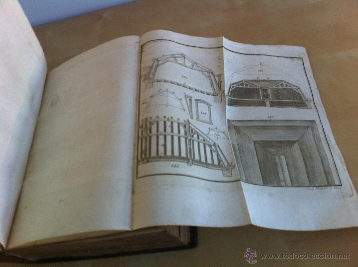 Libros antiguos: ARQUITECTURA CIVIL. ELEMENTOS DE MATEMÁTICA. D.BENITO BAILS. TOMO IX. PARTE I. AÑO 1796. ILUSTRADO. - Foto 31 - 49918044