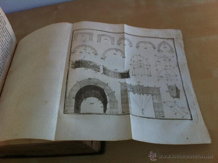 Libros antiguos: ARQUITECTURA CIVIL. ELEMENTOS DE MATEMÁTICA. D.BENITO BAILS. TOMO IX. PARTE I. AÑO 1796. ILUSTRADO. - Foto 32 - 49918044