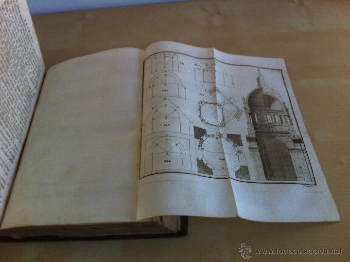 Libros antiguos: ARQUITECTURA CIVIL. ELEMENTOS DE MATEMÁTICA. D.BENITO BAILS. TOMO IX. PARTE I. AÑO 1796. ILUSTRADO. - Foto 35 - 49918044