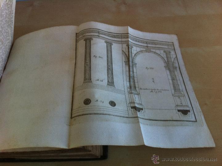 Libros antiguos: ARQUITECTURA CIVIL. ELEMENTOS DE MATEMÁTICA. D.BENITO BAILS. TOMO IX. PARTE I. AÑO 1796. ILUSTRADO. - Foto 36 - 49918044