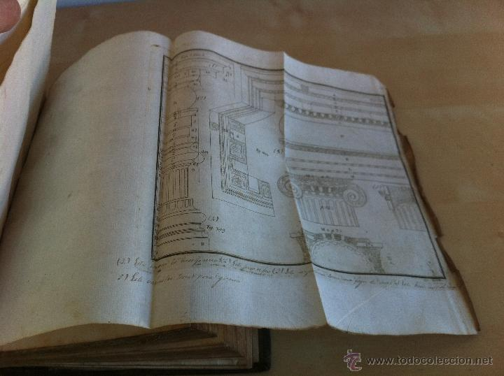 Libros antiguos: ARQUITECTURA CIVIL. ELEMENTOS DE MATEMÁTICA. D.BENITO BAILS. TOMO IX. PARTE I. AÑO 1796. ILUSTRADO. - Foto 37 - 49918044