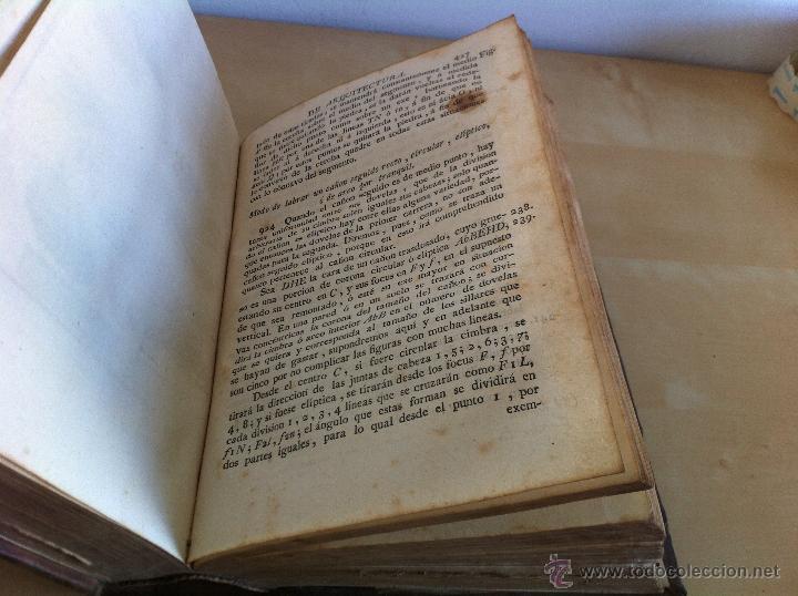 Libros antiguos: ARQUITECTURA CIVIL. ELEMENTOS DE MATEMÁTICA. D.BENITO BAILS. TOMO IX. PARTE I. AÑO 1796. ILUSTRADO. - Foto 39 - 49918044