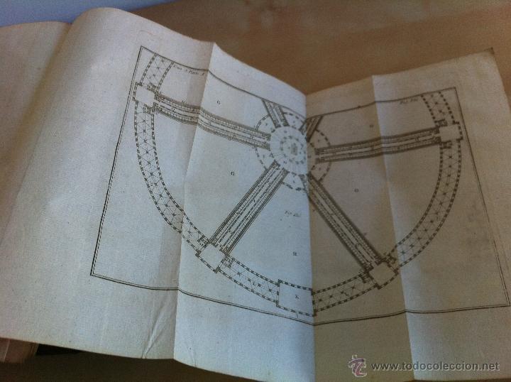 Libros antiguos: ARQUITECTURA CIVIL. ELEMENTOS DE MATEMÁTICA. D.BENITO BAILS. TOMO IX. PARTE I. AÑO 1796. ILUSTRADO. - Foto 41 - 49918044