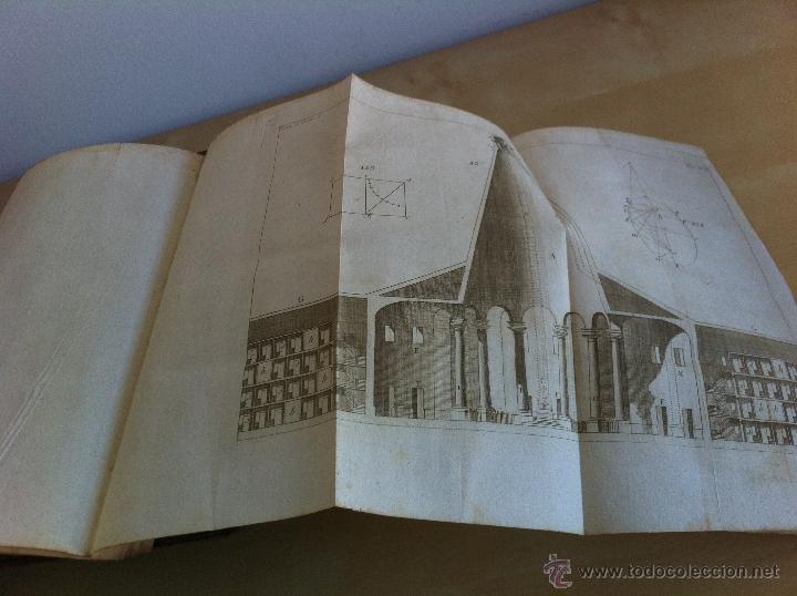 Libros antiguos: ARQUITECTURA CIVIL. ELEMENTOS DE MATEMÁTICA. D.BENITO BAILS. TOMO IX. PARTE I. AÑO 1796. ILUSTRADO. - Foto 42 - 49918044