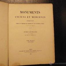 Libros antiguos: MONUMENTS ANCIENS ET MODERNES POR JULES GAILHABAUD, 1870, MONUMENTOS ANTIGUOS Y MODERNOS. Lote 49991887