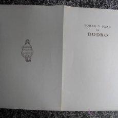 Libros antiguos: 1928 LOS PAZOS GALLEGOS MARQUES DE QUINTANAR PAZO DE DODRO. Lote 50123191