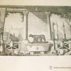Libros antiguos: ALBUM 60 GRABADOS SCENOGRAFIA DEL PIU CELEBRI MONUMENTI SACRI. CALCOGRAFIA CAMERALE 1864 ROMA ITALIA. Lote 50586797