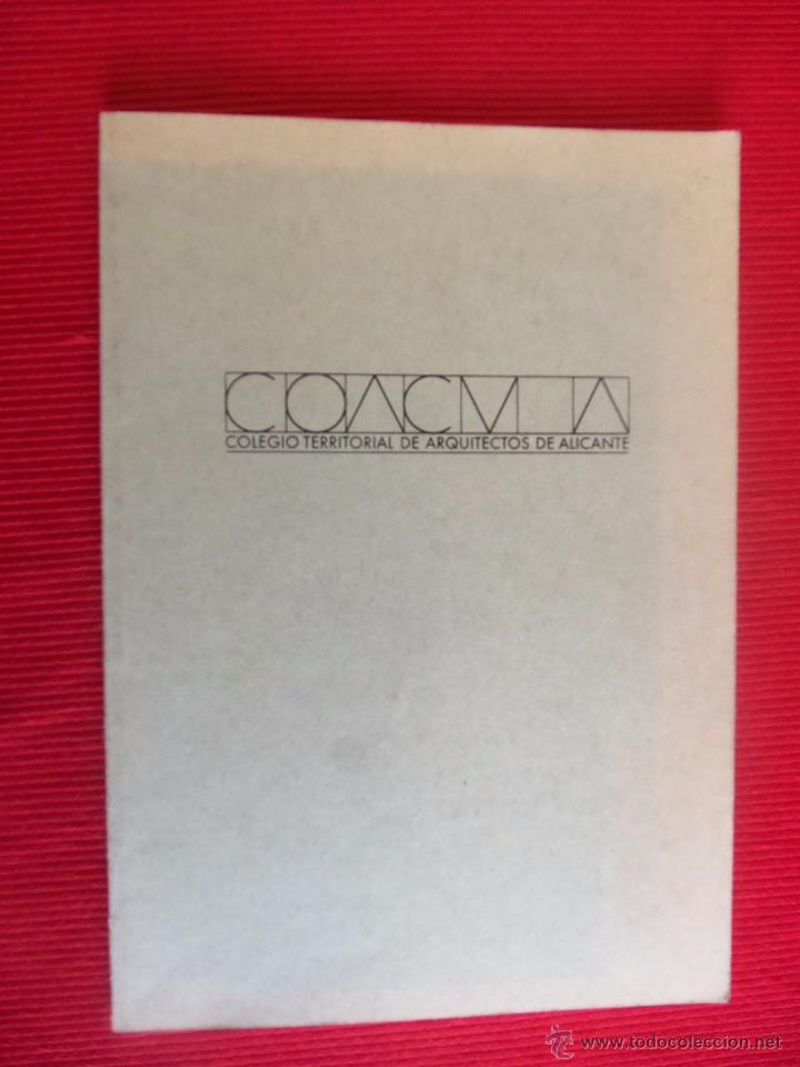 COLEGIO TERRITORIAL DE ARQUITECTOS DE ALICANTE (COACVA) (Libros Antiguos, Raros y Curiosos - Bellas artes, ocio y coleccion - Arquitectura)