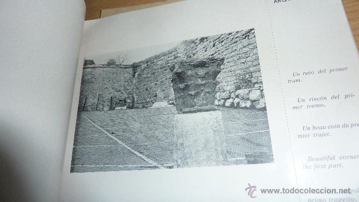 Libros antiguos: libro passeig arqueologic tarragona arqueologia . imp torres i virgili fotos , tarraco 1935 - Foto 3 - 51652972