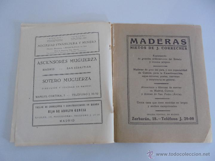 Libros antiguos: ARQUITECTURA ORGANO OFICIAL DE LA SOCIEDAD CENTRAL DE ARQUITECTOS DE MADRID.VER FOGRAFIAS. 3 REVISTA - Foto 36 - 51690313