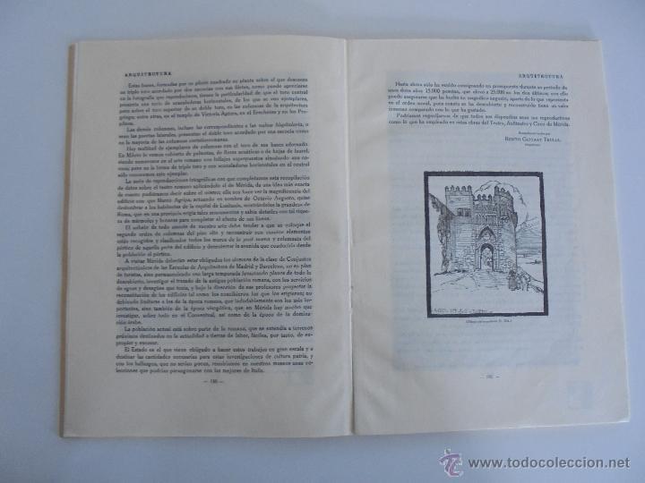 Libros antiguos: ARQUITECTURA ORGANO OFICIAL DE LA SOCIEDAD CENTRAL DE ARQUITECTOS DE MADRID.VER FOGRAFIAS. 3 REVISTA - Foto 43 - 51690313