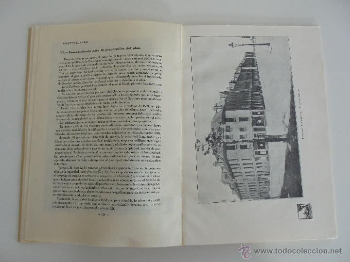Libros antiguos: ARQUITECTURA ORGANO OFICIAL DE LA SOCIEDAD CENTRAL DE ARQUITECTOS DE MADRID.VER FOGRAFIAS. 3 REVISTA - Foto 46 - 51690313