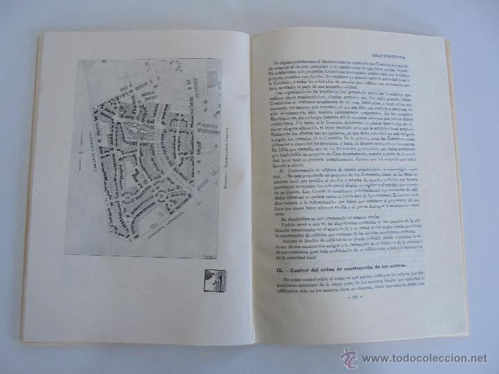 Libros antiguos: ARQUITECTURA ORGANO OFICIAL DE LA SOCIEDAD CENTRAL DE ARQUITECTOS DE MADRID.VER FOGRAFIAS. 3 REVISTA - Foto 48 - 51690313