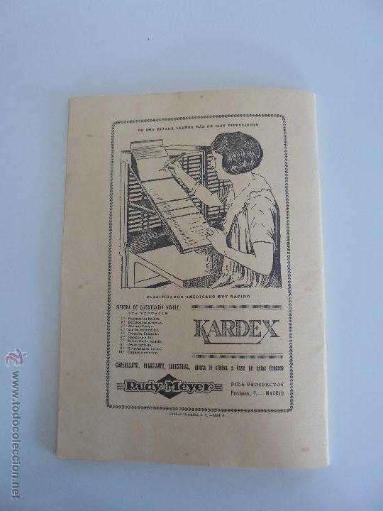 Libros antiguos: ARQUITECTURA ORGANO OFICIAL DE LA SOCIEDAD CENTRAL DE ARQUITECTOS DE MADRID.VER FOGRAFIAS. 3 REVISTA - Foto 51 - 51690313