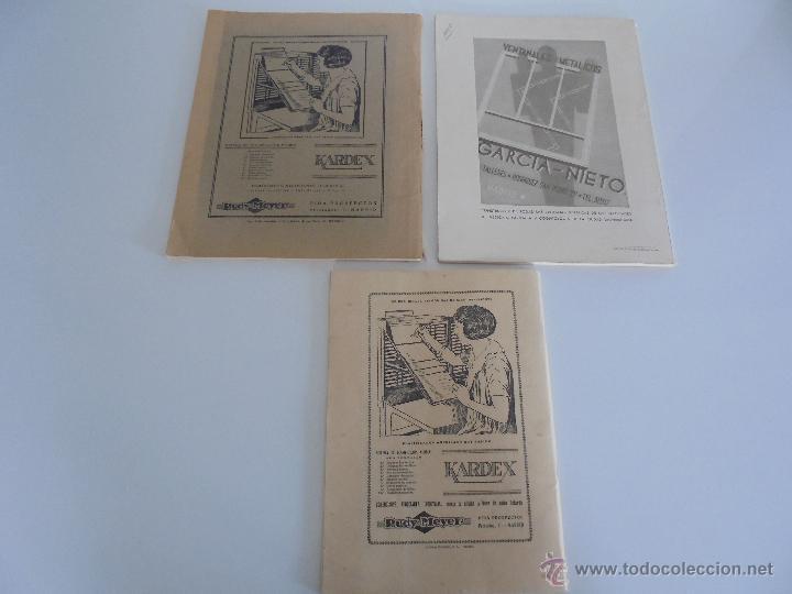 Libros antiguos: ARQUITECTURA ORGANO OFICIAL DE LA SOCIEDAD CENTRAL DE ARQUITECTOS DE MADRID.VER FOGRAFIAS. 3 REVISTA - Foto 52 - 51690313