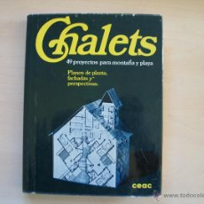 Libros antiguos: CHALETS (49 PROYECTOS). Lote 52918774
