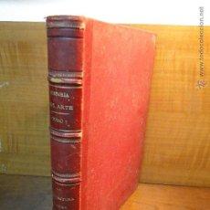 Libros antiguos: HISTORIA GENERAL DEL ARTE.- TOMO 3.LA ARQUITECTURA, LÁMINAS.-- D.LUIS DOMENECH Y D. JOSÉ PUIG Y CADA. Lote 53241527