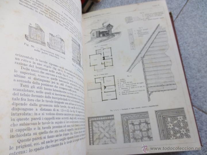 Libros antiguos: MANUALE DE LARCHITETTO VOLUME 1 PARTE 1 DANIELE DONGHI UNIONE TIPOGRAFICO AÑO 1906 - Foto 2 - 53433049