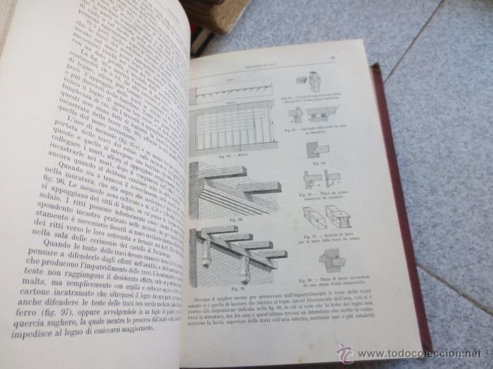 Libros antiguos: MANUALE DE LARCHITETTO VOLUME 1 PARTE 1 DANIELE DONGHI UNIONE TIPOGRAFICO AÑO 1906 - Foto 3 - 53433049