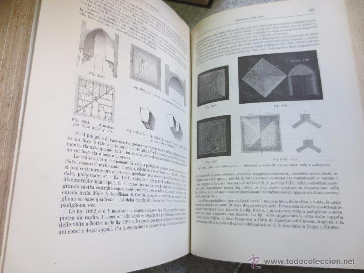 Libros antiguos: MANUALE DE LARCHITETTO VOLUME 1 PARTE 1 DANIELE DONGHI UNIONE TIPOGRAFICO AÑO 1906 - Foto 4 - 53433049