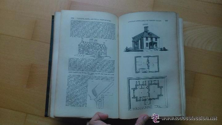 Libros antiguos: An Encyclopedia of cottage, farm, and villa architecture - Foto 5 - 53853439