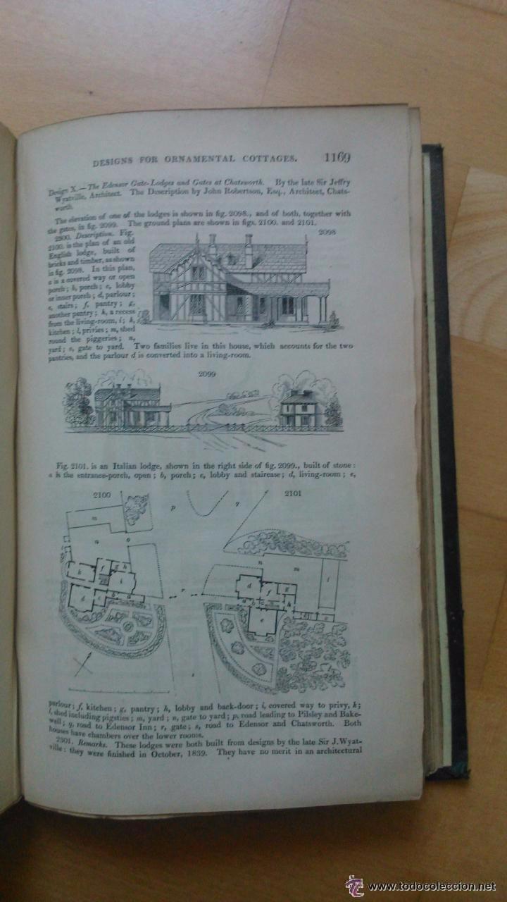 Libros antiguos: An Encyclopedia of cottage, farm, and villa architecture - Foto 6 - 53853439