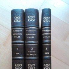 Libros antiguos: TRAITÉ PRATIQUE DE CONSTRUCTIONS CIVILES. Lote 53854142