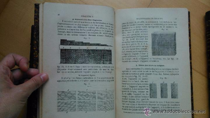 Libros antiguos: Traité pratique de constructions civiles - Foto 5 - 53854142