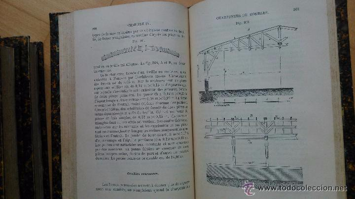 Libros antiguos: Traité pratique de constructions civiles - Foto 7 - 53854142