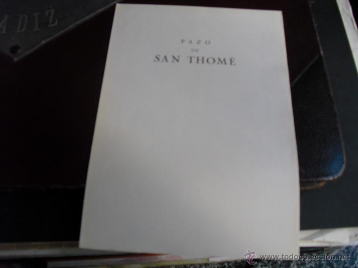 Libros antiguos: LOS PAZOS GALLEGOS MARQUES DE QUINTANAR 1928 PAZO DE SAN THOME - Foto 2 - 53907896