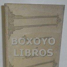 Libros antiguos: CASTELLANOS, S./ REPULLÉS Y VARGAS, E.M. BIOGRAFÍA Y OBRAS ARQUITECTÓNICAS DE EMILIO RODRÍGUEZ AYUSO. Lote 54214288