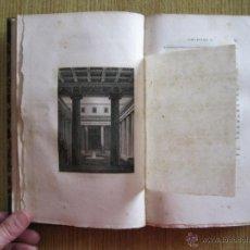 Libros antiguos: LE PALAIS DE SCAURUS (POMPEYA, ITALIA), 1822. F. MAZOIS. POSEE 12 LÁMINAS Y PEQUEÑOS GRABADOS. Lote 54294259