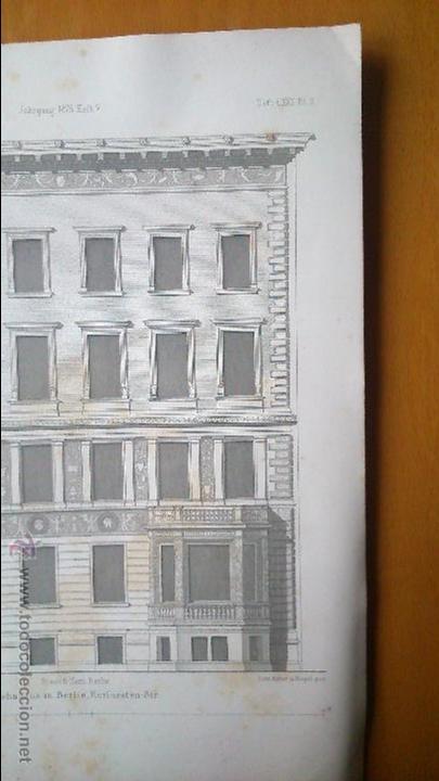 Libros antiguos: Architektonisches Skizen-Buch. 1873 Heft V CXXII. 6 láminas litográficas - Foto 4 - 54388033