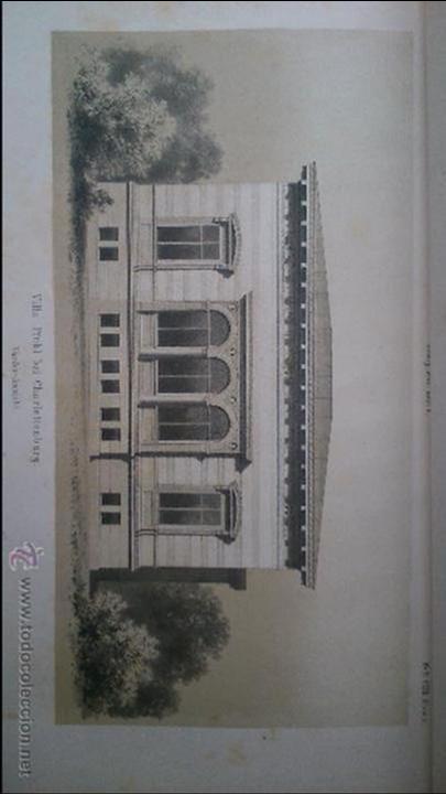 Libros antiguos: Architektonisches Skizen-Buch. 1873 Heft V CXXII. 6 láminas litográficas - Foto 5 - 54388033