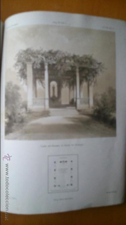 Libros antiguos: Architektonisches Skizen-Buch. 1873 Heft V CXXII. 6 láminas litográficas - Foto 7 - 54388033