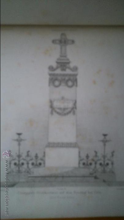 Libros antiguos: Architektonisches Skizen-Buch. 1873 Heft V CXXII. 6 láminas litográficas - Foto 8 - 54388033