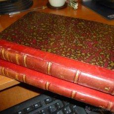 Libros antiguos: LECCIONES DE ARQUITECTURA EXPLICADAS POR BERNARDO PORTUONDO Y BARCELO, 2 TOMOS 1877. Lote 54481113