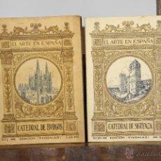 Libros antiguos: LP-163 - EL ARTE EN ESPAÑA.20 VOLUM.VV. AA.(VER DESCRIP). EDIC. THOMAS. 1913.. Lote 51522240