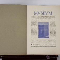 Libros antiguos: 6686 - MUSEUM. 8 EJEM.(VER DESCRIP). THOMAS. EDIT. THOMAS. 1917-1920.. Lote 50049638